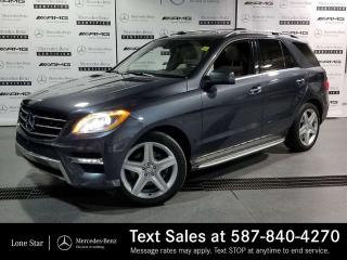 Used 2015 Mercedes-Benz ML 350 BlueTEC 4MATIC SUV for sale in Calgary, AB