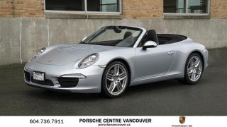 Used 2014 Porsche 911 Carrera Cabriolet (991) w/PDK | PORSCHE CERTIFIED for sale in Vancouver, BC