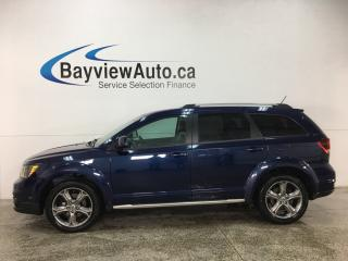 Used 2018 Dodge Journey Crossroad - 7 PASS! DVD! NAV! REVERSE CAM! U-CONNECT! SUNROOF! PUSH START! for sale in Belleville, ON