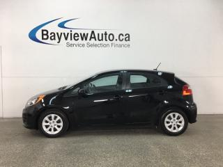 Used 2016 Kia Rio LX - 6SPD! LOW KMS! CRUISE! PWR GROUP! for sale in Belleville, ON