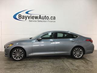Used 2015 Hyundai Genesis 3.8 Premium - NAV! REVERSE CAM! BLUETOOTH! PADDLE SHIFTERS! ALLOYS! for sale in Belleville, ON
