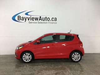 Used 2018 Chevrolet Spark 1LT CVT - REVERSE CAM! ONSTAR! BLUETOOTH! WIFI! ANDROID AUTO! APPLE CARPLAY! CRUISE! for sale in Belleville, ON