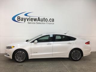 Used 2018 Ford Fusion Hybrid Titanium - NAV! REVERSE CAM! SYNC! SONY STEREO! for sale in Belleville, ON