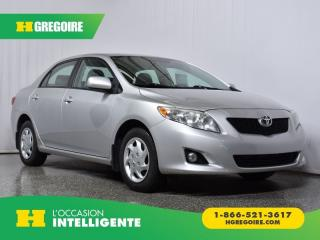 Used 2009 Toyota Corolla LE for sale in St-Léonard, QC