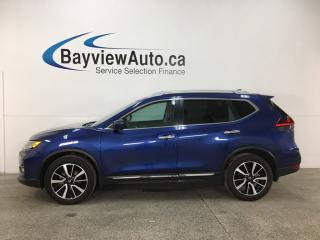 Used 2018 Nissan Rogue SL - AWD! NAV! REVERSE CAM! PANOROOF! BLUETOOTH! PWR LIFTGATE! for sale in Belleville, ON