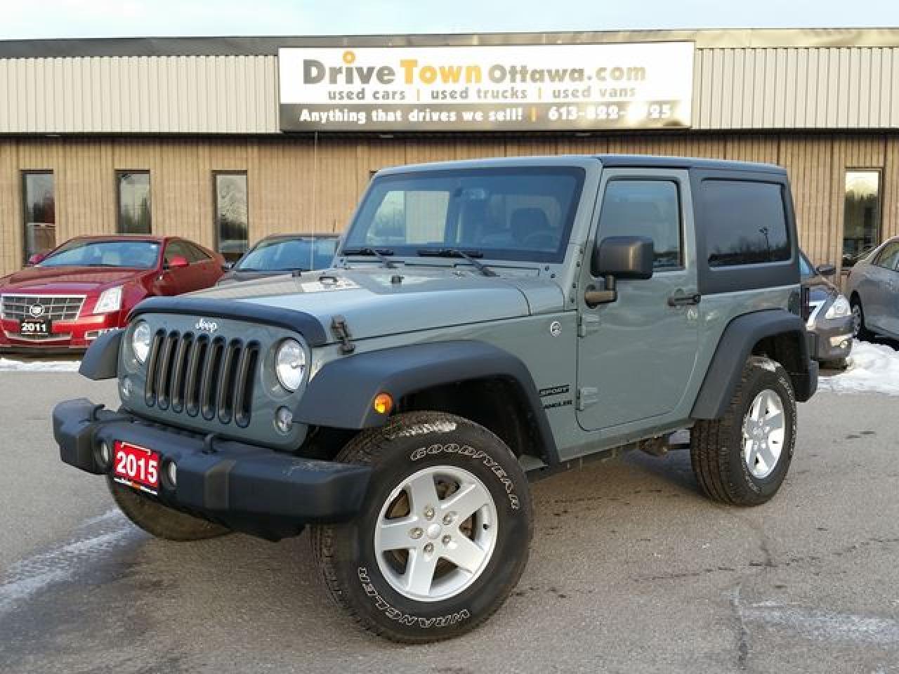 2015 Jeep Wrangler Sport 4x4 **LOADED**