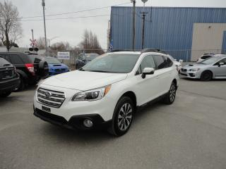 Used 2016 Subaru Outback 3.6R LTED TECH EYESIGHT AWD * TOUT ÉQUIP for sale in Trois-Rivières, QC
