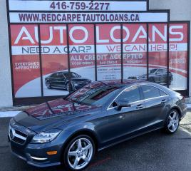 Used 2013 Mercedes-Benz CLS-Class CLS550-ALL CREDIT ACCEPTED for sale in Scarborough, ON