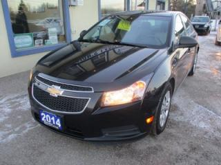 Used 2014 Chevrolet Cruze 6-SPEED MANUAL LS MODEL 5 PASSENGER 1.8L - ECO-TEC.. CD/AUX/USB INPUT.. KEYLESS ENTRY.. for sale in Bradford, ON