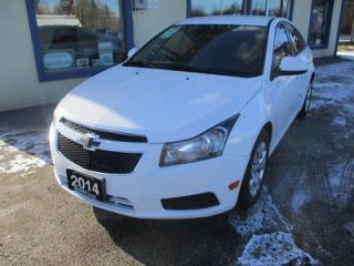 Used 2014 Chevrolet Cruze GAS SAVING 1-LT MODEL 1.4L - ECO-TEC.. TOUCH SCREEN.. BACK-UP CAMERA.. BLUETOOTH SYSTEM.. for sale in Bradford, ON