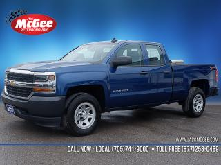 Used 2017 Chevrolet Silverado 1500 WT Dbl 4x4 - 5.3L, Bench, Carpet, Lock Diff, HID's, Bluetooth for sale in Peterborough, ON