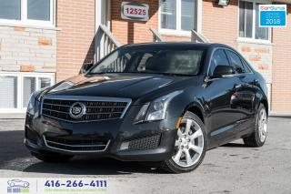 Used 2014 Cadillac ATS NO ACCIDENTS AWD NAVI GPS REAR-CAM CERTIFIED CLEAN for sale in Bolton, ON