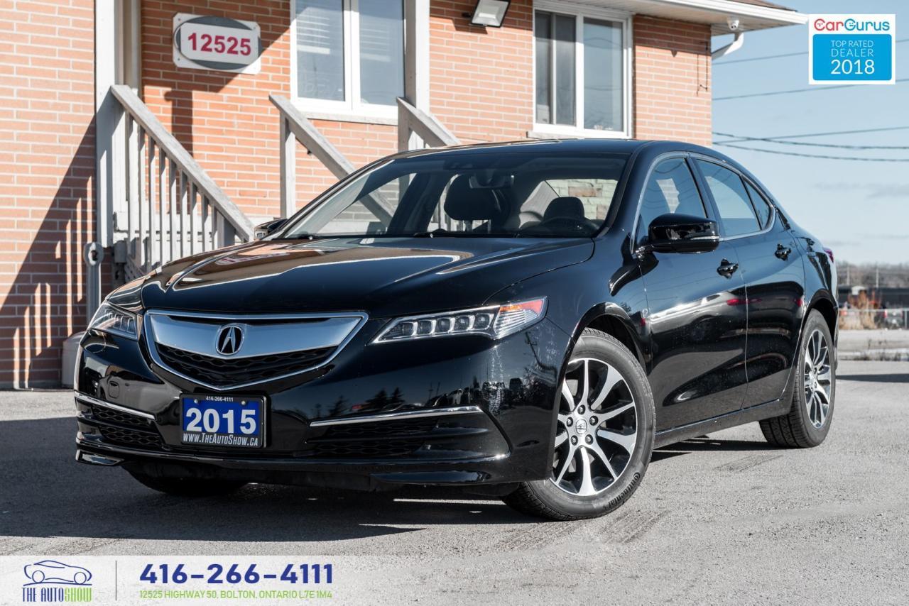 2015 Acura TLX 1 OWNER TECH PKG NAVI REAR-CAM CERTIFIED SERVICED