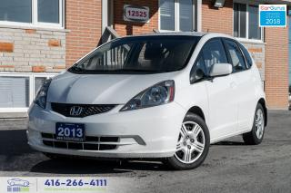 Used 2013 Honda Fit NO ACCIDENTS HONDA SERVICED CERTIFIED REMOTE START for sale in Bolton, ON