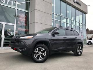 Used 2017 Jeep Cherokee V6 for sale in Ste-Agathe-des-Monts, QC