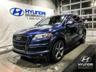 Used 2015 Audi Q7 PRESTIGE S-LINE 3.0T + GARANTIE + NAVI + for sale in Drummondville, QC