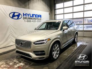 Used 2017 Volvo XC90 T8 INSCRIPTION HYBRID + eAWD + GARANTIE for sale in Drummondville, QC