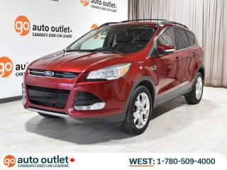 Used 2013 Ford Escape SEL 4WD; Leather, Heated Seats, Factory Remote Start for sale in Edmonton, AB