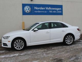 Used 2018 Audi A4 Sedan A4 QUATTRO KOMFORT - HEATED LEATHER / SUNROOF / ALLOY WHEELS / ALL WHEEL DRIVE for sale in Edmonton, AB