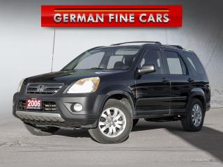 Used 2006 Honda CR-V SE**ALL WHEEL DRIVE** YEAR END SALE! for sale in Bolton, ON