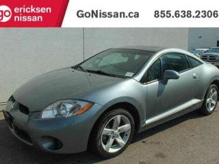 Used 2007 Mitsubishi Eclipse GS: LOW KMS! POWER OPTIONS, AIR CONDITIONING for sale in Edmonton, AB