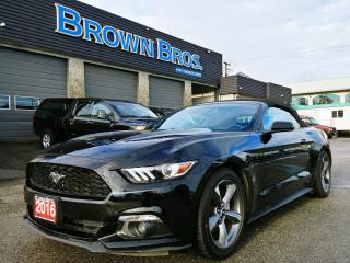 Used 2016 Ford Mustang V6, LOCAL, ACCIDENT FREE CONVERT! for sale in Surrey, BC