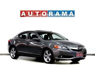 Used 2015 Acura ILX PREMIUM PACKAGE LEATHER SUNROOF BACK UP CAMERA for sale in Toronto, ON