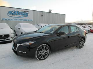 Used 2018 Mazda MAZDA3 GT PREMIUM CUIR AUTOMATIQUE for sale in St-Georges, QC
