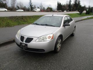 Used 2008 Pontiac G6 SE for sale in Surrey, BC