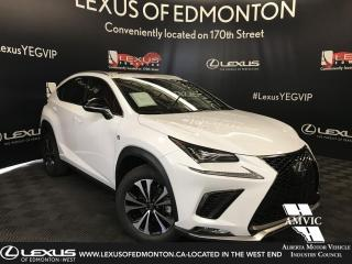 New 2019 Lexus NX 300 F Sport Series 1 for sale in Edmonton, AB