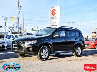 Used 2013 Mitsubishi Outlander ES AWD ~Bluetooth ~Alloy Wheels for sale in Barrie, ON
