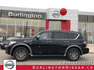 Used 2018 Nissan Armada Platinum for sale in Burlington, ON