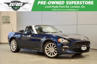 Used 2018 Fiat 124 Spider Lusso - 1.4L Turbo, fun car, low kms, for sale in London, ON