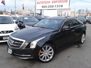 Used 2015 Cadillac ATS AWD Navigation/Leather/Sunroof for sale in Mississauga, ON