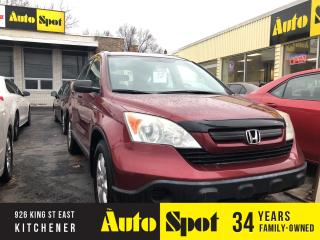 Used 2009 Honda CR-V LX/LOW, LOW KMS/PRICED -QUICK SALE! for sale in Kitchener, ON