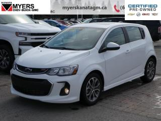 Used 2018 Chevrolet Sonic LT  The Most Comfortable Front Seats weve Tested. for sale in Ottawa, ON