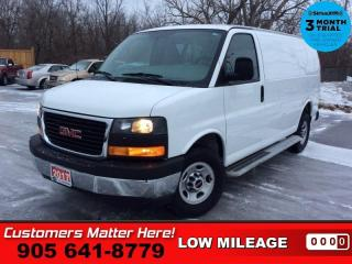 Used 2017 GMC Savana Cargo Van WT  CHROME-BUMPERS CAGE BOARDS PWR-GROUP for sale in St. Catharines, ON