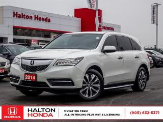 Used 2014 Acura MDX TECH|SERVICE HISTORY ON FILE for sale in Burlington, ON
