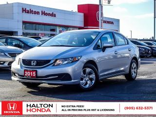 Used 2015 Honda Civic LX|ONE OWNER for sale in Burlington, ON