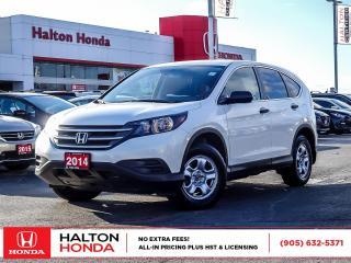 Used 2014 Honda CR-V LX|SERVICE HISTORY ON FILE for sale in Burlington, ON