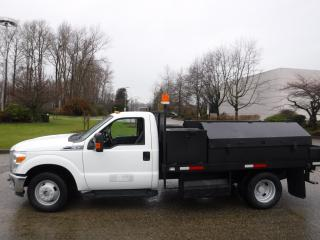 Used 2011 Ford F-350 SD XLT Dually 2WD Service Truck 12 Foot Flat Deck for sale in Burnaby, BC