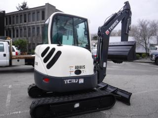 Used 2011 TEREX TC37 Mini Excavator Diesel for sale in Burnaby, BC