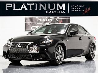 Used 2016 Lexus IS 350 F-SPORT, AWD, NAVI ,CAM, RED LEATHER for sale in Toronto, ON