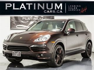 Used 2014 Porsche Cayenne DIESEL, NAVI, PANO, CAM, Turbo Wheels for sale in Toronto, ON