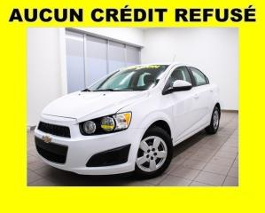 Used 2015 Chevrolet Sonic A/C for sale in St-Jérôme, QC