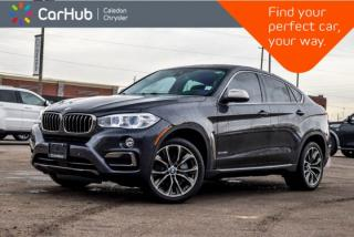 Used 2015 BMW X6 xDrive50i|Navi|Sunroof|Backup Cam|Bluetooth|Leather|Heated Front & Rear Seats|20