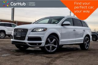 Used 2015 Audi Q7 3.0T Vorsprung Edition|Quattro|7 Seater|Navi|Backup Cam|Bluetooth|Heated Seats|Leather|20