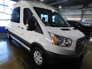 Used 2017 Ford Transit Wagon 350  MED. PASSANGER NAVI for sale in Listowel, ON