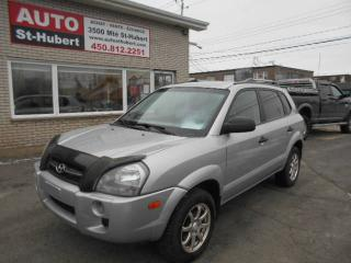 Used 2008 Hyundai Tucson GL ** AUTO/4CYL ** for sale in St-Hubert, QC
