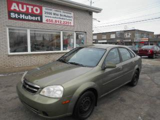 Used 2004 Chevrolet Optra for sale in St-Hubert, QC